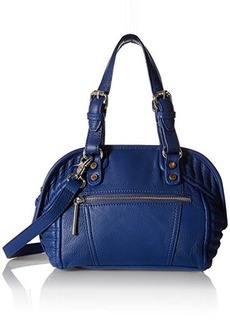 French Connection Jett Mini Satchel Bag, Monarch Blue, One Size