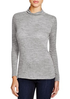 FRENCH CONNECTION Jimmy Luxe Mock Neck Top