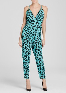 FRENCH CONNECTION Jumpsuit - Leo Leopard
