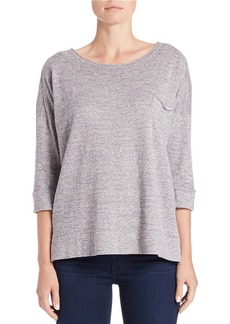 FRENCH CONNECTION Knit Roundneck Top