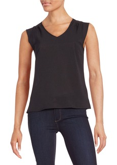 FRENCH CONNECTION Knit V-Neck Top