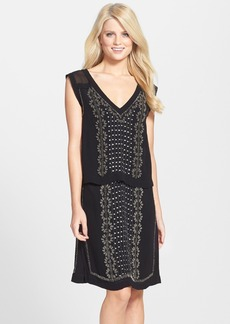 French Connection 'La Bohème' Beaded Popover Dress