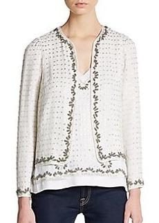 French Connection La Boheme Embellished Jacket