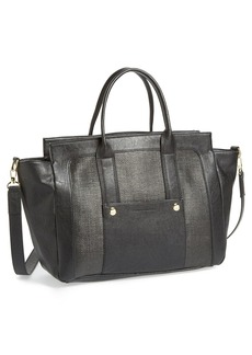 French Connection 'Large Mod Squad' Faux Leather Tote