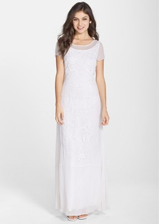 French Connection 'Las Salinas' Eyelet Chiffon Gown