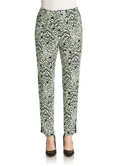FRENCH CONNECTION Leopard Moth Gathered Trousers
