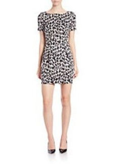 FRENCH CONNECTION Leopard-Print Sheath Dress