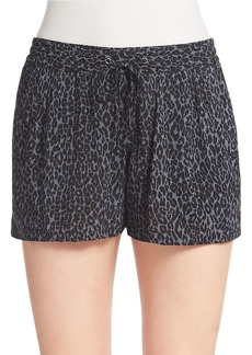 FRENCH CONNECTION Leopard-Print Shorts