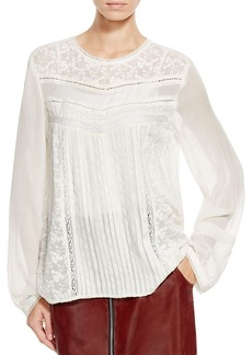 FRENCH CONNECTION Lille Lace Top