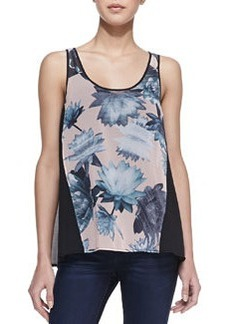 French Connection Lily Collage Floral-Print Tank Top