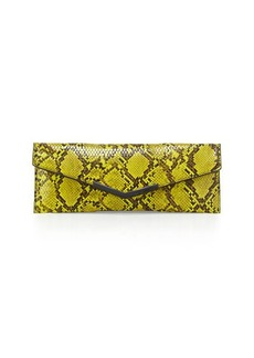 French Connection Liv Embossed Envelope Evening Clutch Bag