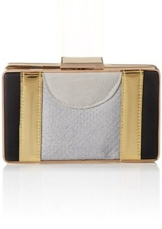 French Connection Madpad Minaudiere Evening Bag