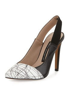 French Connection Maemi Colorblock Slingback Pump