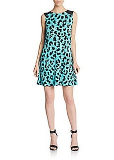 French Connection Leo Blocked Sheath Dress