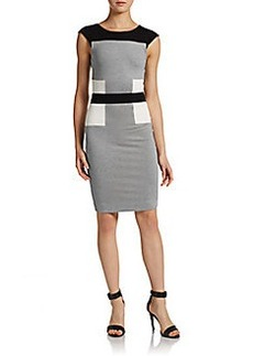 French Connection Manhattan Colorblock Jersey Dress