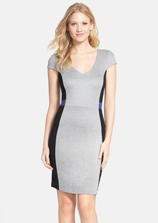 French Connection 'Manhattan' Colorblock Sheath Dress
