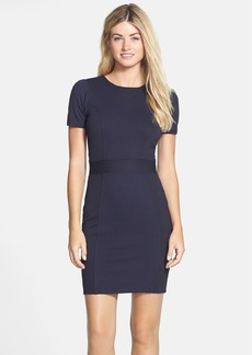 French Connection 'Manhattan' Textured Body-Con Dress