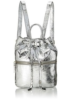 French Connection Mara Backpack, Silver, One Size