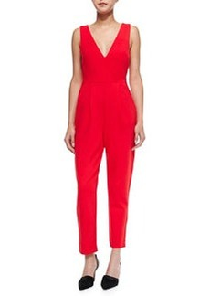 French Connection Marie Sleeveless Cropped Jumpsuit