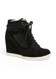French Connection 'Marla' High Top Wedge Sneaker