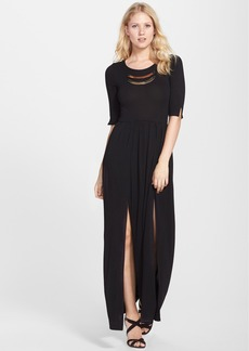 French Connection 'Meadow' Metal Plate Jersey Maxi Dress