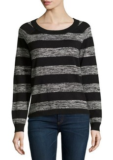 French Connection Mega Marl Striped Sweater