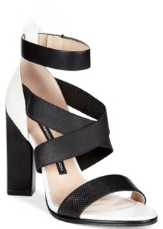 French Connection Melody Cross Strap Dress Sandals Women's Shoes