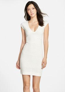 French Connection 'Miami Danni' Body-Con Sweater Dress