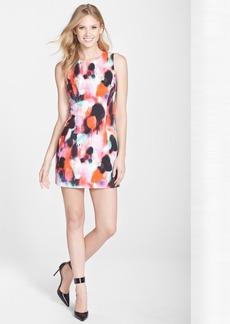 French Connection 'Miami Graffiti' Print Sleeveless Sheath Dress