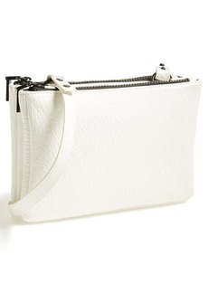 French Connection 'Mini Gypsy' Faux Leather Crossbody Bag