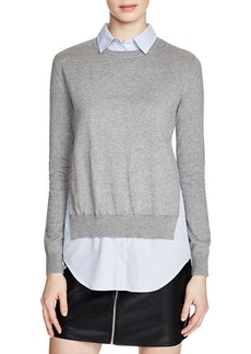 FRENCH CONNECTION Mix It Layered Look Sweater
