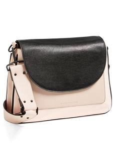 French Connection 'Mod Squad' Faux Leather Shoulder Bag