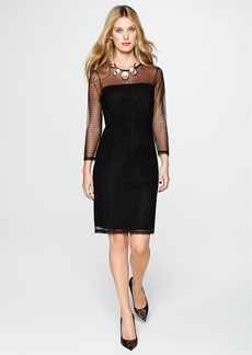 French Connection 'Mona' Dot Illusion Sheath Dress