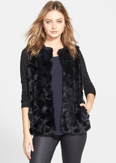 French Connection 'Nala' Faux Fur Vest (Online Only)