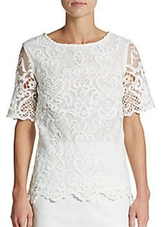 French Connection Nebraska Lace Blouse