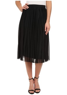 French Connection Nightshade Pleats Skirt 73CPG