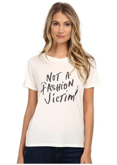 French Connection Not A Fashion Victim T-Shirt 76EBP