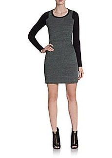 French Connection Olivia Textured-Front Dress