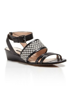 FRENCH CONNECTION Open Toe Demiwedge Sandals - Wiley