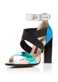 FRENCH CONNECTION Open Toe Sandals - Melody High Heel