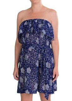 French Connection Oriental Daisy Cover-Up Dress - Strapless (For Women)