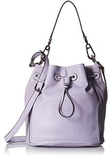 French Connection Paige Drawstring Bucket Bag, Swan Lake, One Size