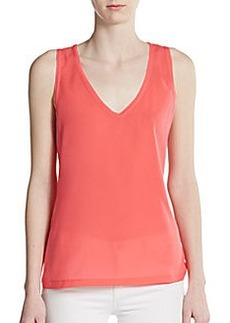 French Connection Penny Plain Tank Top