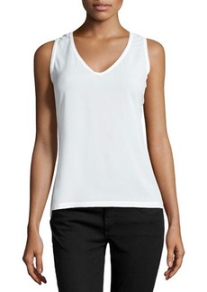French Connection Penny Plains V-Neck Tank