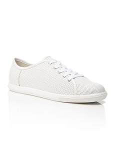 FRENCH CONNECTION Perforated Leather Sneakers - Finley