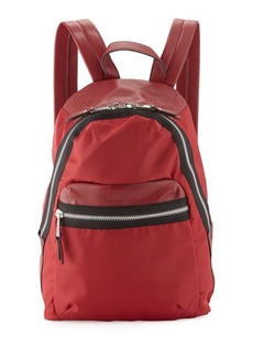 French Connection Piper Contrast-Trim Nylon Backpack