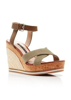 FRENCH CONNECTION Platform Wedge Espadrille Sandals - Lata