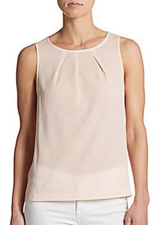 French Connection Pleated Tank