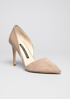 FRENCH CONNECTION Pointed Toe D'Orsay Pumps - Elvia