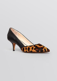 FRENCH CONNECTION Pointed Toe Pumps - Efayla Mid Heel